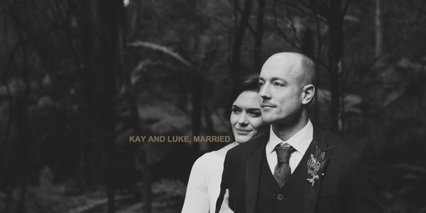 Waikato wedding couple just married ruth gilmour photographer